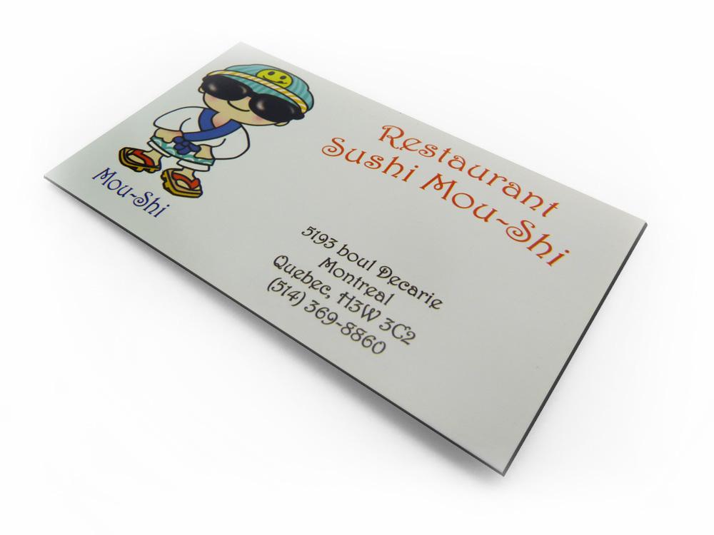 Aimants Carte De Visite Imprimerie Montreal